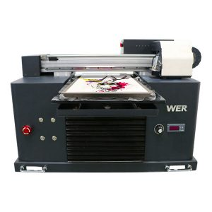 A4 flatbed dtg مستقیمه ټوټه د ټوټه ټوټه چاپ ماشین ټ ټمی شرټ ته