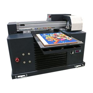 نوی ډیزاین مینی لیست شوی A3 A4 ډیزاین Desktop Epson UV چاپ